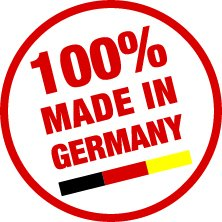 Siegel - 100% Made in Germany